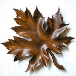 Norway Maple Leaf Hand-Carved in Rosewood